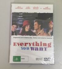 Everything You Want (DVD, 2006) R4 NEW