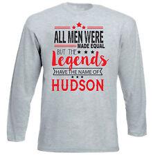 HUDSON - NEW COTTON GREY TSHIRT