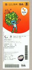 2016 RIO Summer Paralympics WHEELCHAIR RUGBY ticket SWEDEN vs. USA