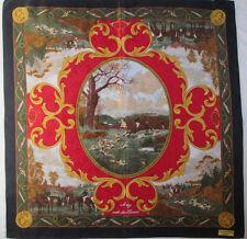 -Superbe Foulard  FURSTENBERG couture  100% soie TBEG  vintage scarf  86 x 90 cm