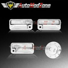88-01 Chevy C/K Pickup Chrome 2 Door Handle Covers + Tailgate + Gas Cap Cover