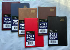 2021 Monthly Calendar Appointment Agenda Schedule Thin Purse Pocket Planner 5x8