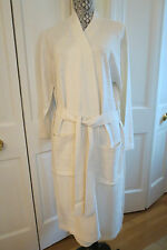 Luxurious M.I.L.A. Cashmere Blend Robe – Ivory - NWT – One Size $348