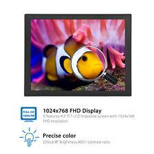 "Eyoyo 8"" TFT LCD 1204*768 4:3 Display HD Screen Monitor HDMI VGA Video Audio USB"