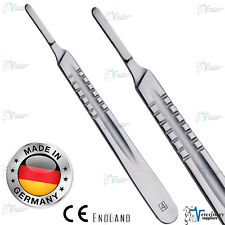 Scalpel HANDLE NO 4 For SURGICAL BLADES 20-25 Cutting TOOL Stainless Steel ce