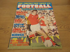 December Football Monthly Sports Magazines