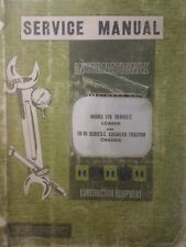 IH International 175 series C TD- 15 Crawler Tractor Chassis Service Manual
