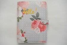 Websters Pages Color Crush Spring Floral Planner Kit A5 Planner 6 Ring Binder