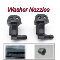 2Pcs Front Windshield Washer Jet Nozzle For Toyota Yaris MK1 Tacoma MR2 Celica 6