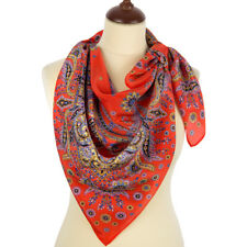un authentique foulard russe 89*89 cm soie _scarf russian Shawl, Wrap, Scarf