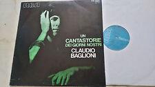 CLAUDIO BAGLIONI Un Cantastorie...ITALIAN DEEPGROOVE´71