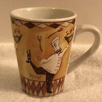 Oneida Chef Capades Jennifer Sosik Coffee Cup Mug Restaurant Waiter 10 Oz