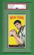 1965 Topps #122 Joe Namath ** CENTERED ** ROOKIE * PSA NM 7 ** old football card