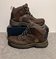 Timberland Brown Men's White Ledge Mid Ankle Boot Hiking Trail US 11 M