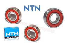 Kawasaki ZX6R G1 - G2 Premium Quality Rear Wheel Bearings Kit, By NTN (98 & 99)