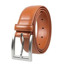 Gelante Men's Classic Dress Leather Belt Stitched