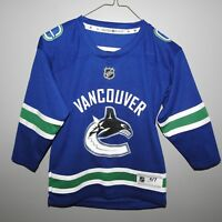 NHL Vancouver Canucks Home Hockey Jersey New Child 4-7