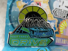 2016 Disney Mascots Epcot's Test Track Drive Car Ride Mystery Trading Pin