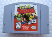 Pokemon Snap Nintendo 64 N64 OEM Video Game Cart Retro Kids Original Rare GREAT!