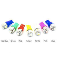 10X  T10 5SMD 5050 Car LED Wedge Light Plate License 194 2825 501 Bulb #AM8