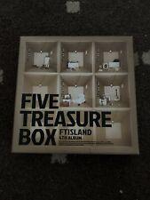 FTISLAND Five Treasure Box Kpop K Pop Album