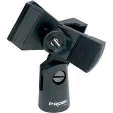 PROEL APM15 supporto universale in abs per microfono a pinza con vite bloccante