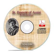 St. Francis of Assisi, GK Chesterton Christian Church History Bible PDF CD H27