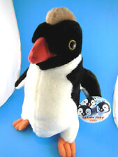 "Happy Feet 2 Penguin 12"" Plush Warner Brothers Toy Factory Mint with Tag CUTE!"