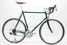 USED Custom Steel ~61cm-62cm Shimano 105 Ksyrium SL Ritchey Road Bike