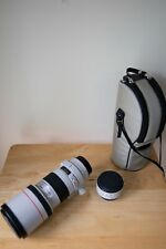 Good Condition Canon EF 300mm f/4 L USM Lens + Excellent EF 1.4x Extender II