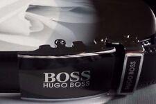 Hugo Boss Leather Belt  Black Colour Automatic Buckle