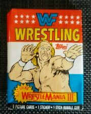 1987 Topps WWF Wrestling Trading Card Wax Pack