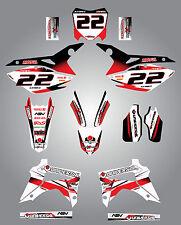 Honda CRF 450 - 2013 - 2015 Full  Custom Graphic  Kit - STORM STYLE