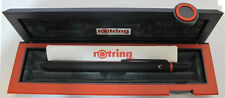 ROTRING QUATTRO MATTE BLACK - BLACK  PEN,  PDA  0.5 PENCIL, & HILITER NEW IN BOX