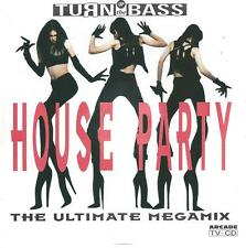 CD album TURN UP THE BASS HOUSE PARTY ULTIMATE MEGAMIX
