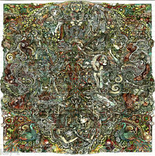EVERYTHING IN MY MIND BLOTTER ART perforated psychedelic LSD Acid Art paper tabs