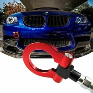 Red CNC Euro Racing Tow Hook For BMW E46 E81 E30 E36 E90 E91 E92 E93 1 3 Series