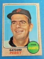 1968 TOPPS #85 GAYLORD PERRY  Ex-Mint Giants
