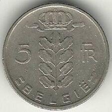 Belgium : 5 Francs 1960 Dutch Legend