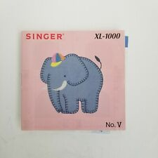 Singer Embroidery Design Card Xl 1000 card V (10) elephant cover