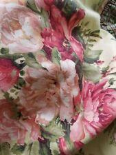 Pair of Floral Standard Pillow Shams New
