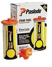 PASLODE 816007 Universal Short Yellow Trim Fuel Cell (2 Pack) w/2 adapters