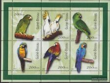 Stamps Stamps Guinea-bissau 1452-1457 Unmounted Mint Never Hinged 2001 Birds