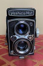 Yashica mat 80mm F3.5 120 Camera Shutter Working