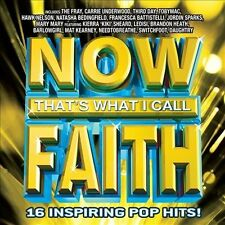 Now That's What I Call Faith CD New Sealed Carrie Underwood, Daughtry + 14 More