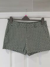 BNWOT Women's Green Patterned Shorts by GAP Size 12