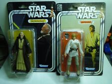 STAR WARS KENNER LOT FIGURINE  OBI WAN KENOBY / LUKE SKYWALKER