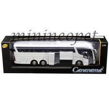 CARARAMA 57702 W SCANIA IRIZAR PB BUS 1/50 DIECAST ALL WHITE