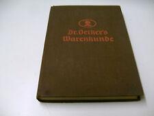 Dr. OETKER´S WARENKUNDE  1934