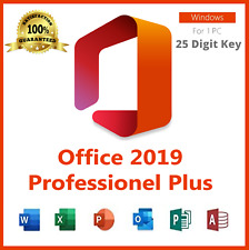 Microsoft Office 2019 Professional Plus 32/64-bit License Key - Instant Delivery